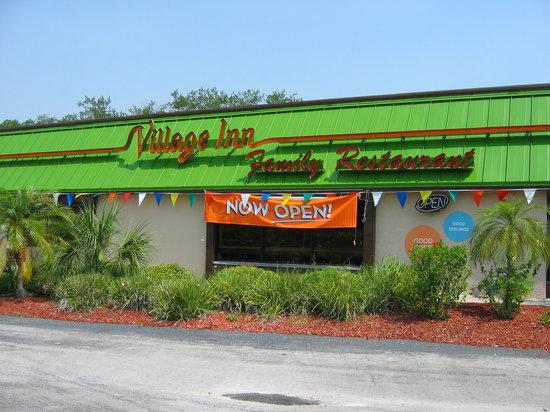 Village Inn: Now Open!