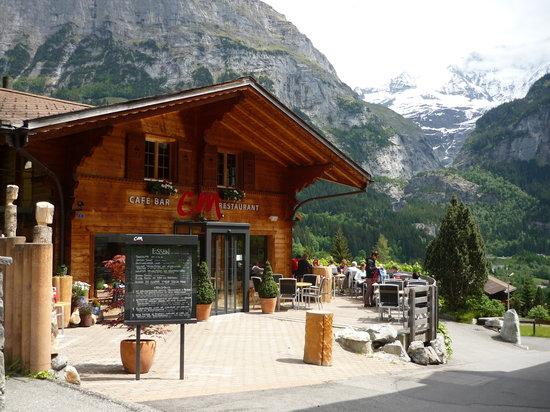 C und M Cafe Bar Restaurant: C und M Grindelwald May 2011
