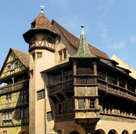Colmar, France: Maison Pfister, built in 1537
