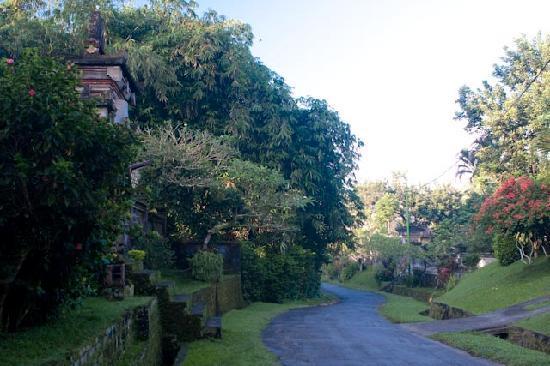 Amori Villas: Local village streets