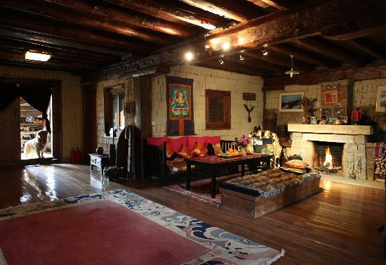 The Home Tibetan Home: Living Room