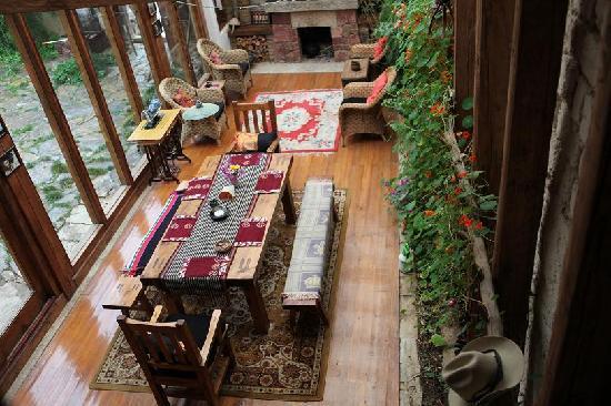 The Home Tibetan Home: Dining Room
