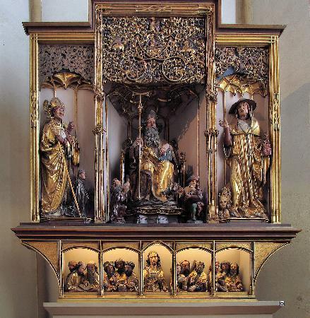Musée Unterlinden : Altar Piece (portion of larger exhibit)