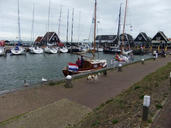 Marken Hafen