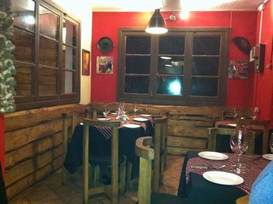 a cozy córner of Triana Restaurante