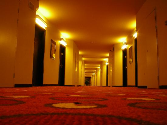 AZIMUT Hotel Olympic Moscow: Corridor