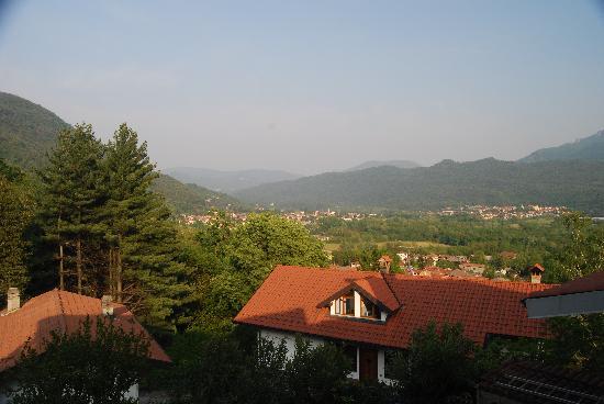 Antico Borgo Sanda: view from the balcony