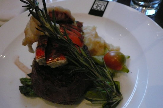 Prime 360: Steak and lobster tail