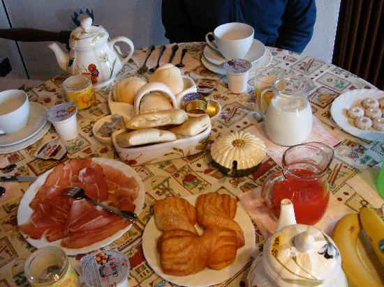 Homelifebed Colli Euganei: Breakfast table