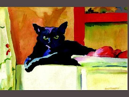 Sarah's Gallery : Black Cat