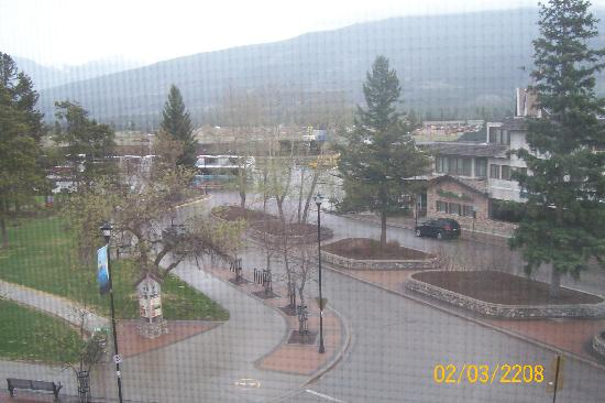 Athabasca Hotel: View outside of my window