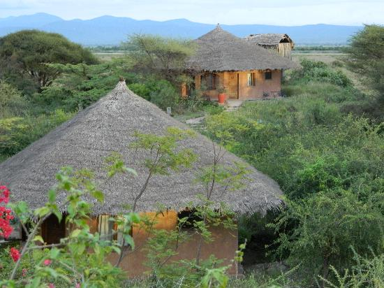 Kia Lodge – Kilimanjaro Airport: 2 rooms per cottage