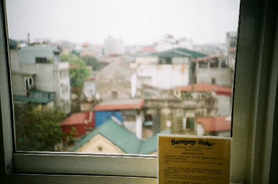하노이 하모니 호텔: 하모니에서 제공하는 아침을 먹으면 바라보는 하노이의 아침풍경