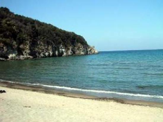 Hotel Villa Campo: der Strand