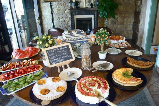 Hotel Villa Ducale: una piccola parte della colazione