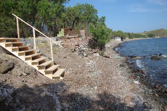 Eftalou, Hellas: strand