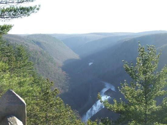 Pine Creek Gorge: Harrison Lookout