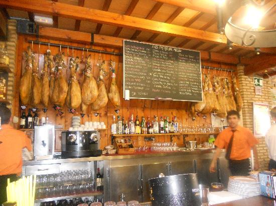 Meson del Asador: Just about make the tapas menu out.....