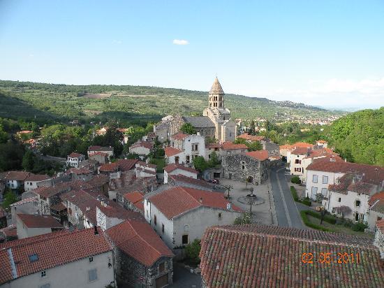 France: Medieval viallge St Saturnin
