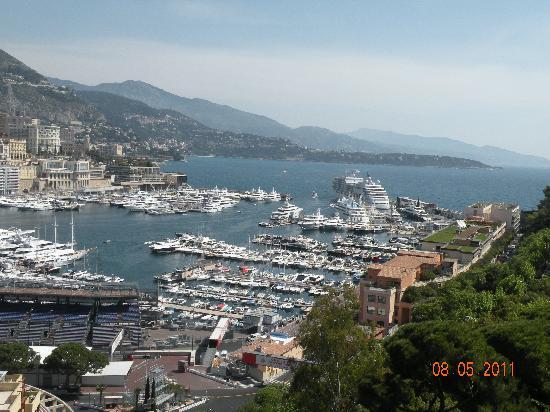 France: Monaco harbour