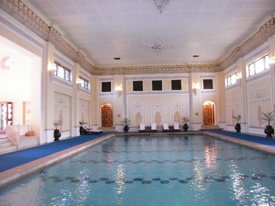 Rambagh Palace: Inside Pool