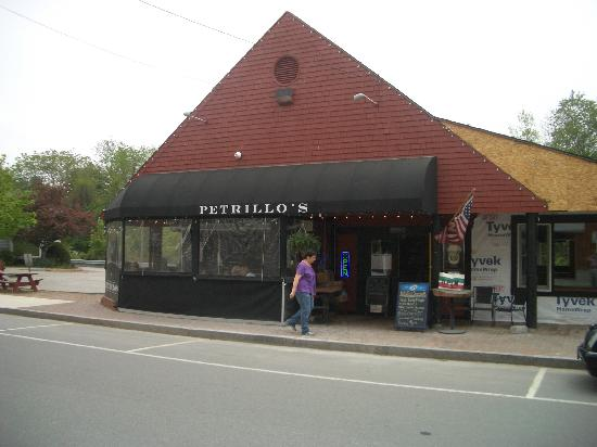Petrillo's : from the outside, down the hill from LL Bean