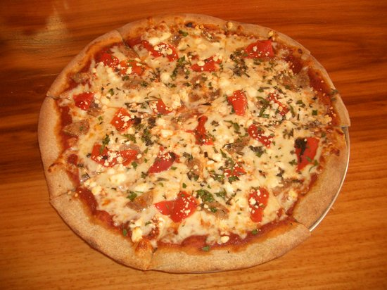 Petrillo's: one of the specialty pizzas, called Dom's