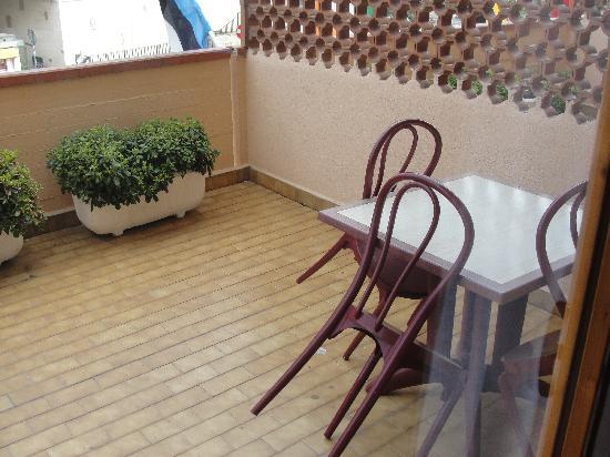 Park Hotel Residence: terrazzo