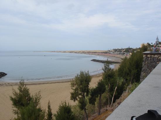 Hotel Lucana: view of maspalomas