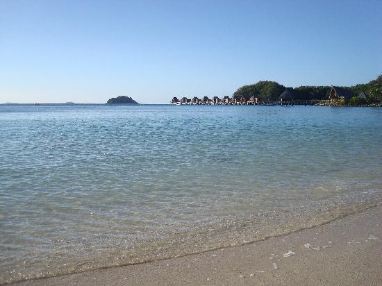 Likuliku Lagoon Resort: Beach