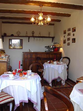 Locanda dell'Antico Cammino: Sala colazione