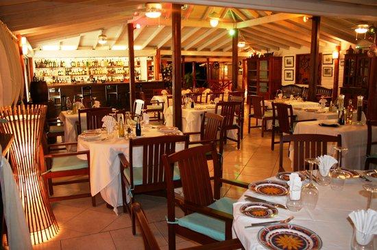 La Bussola Restaurant : Dining room