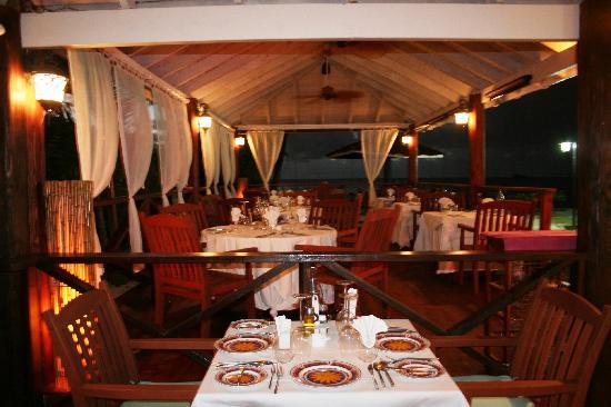 La Bussola Restaurant : Deck view