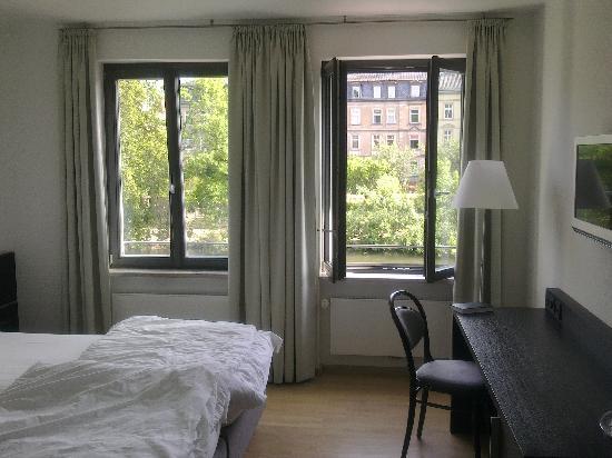 Tandem Hotel: Blick in unser Zimmer