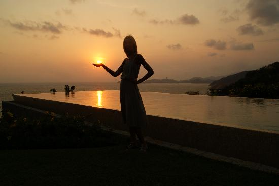 Banyan Tree Cabo Marques: Unforgettable sunset