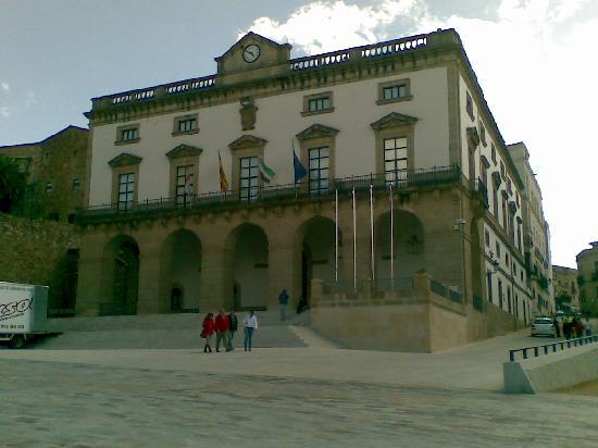 Cáceres, Espagne : El Excelentissimo Ayuntamento de Caceres