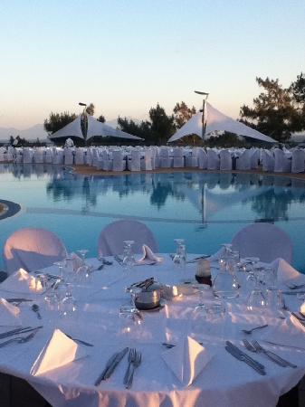 Club Med Bodrum Palmiye: Soirée blanche