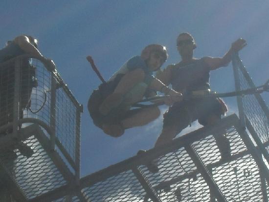 Rock`n Ropes : Giant swing