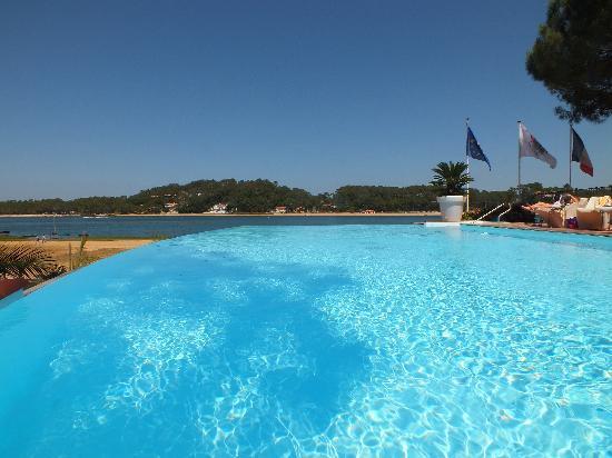 Les Hortensias du Lac: piscine