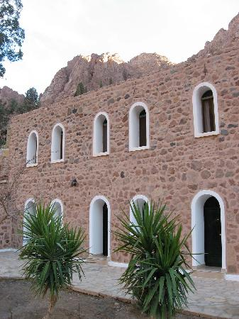St. Catherine's Monastery Guesthouse: Courtyard access to rooms