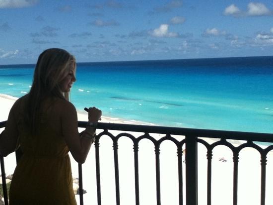 Grand Park Royal Cancun Caribe: mi amor, vista al mar