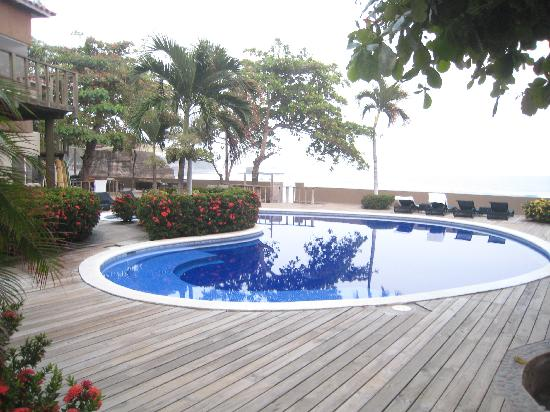 El Sunzal, El Salvador: The pool area