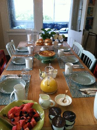 One Kimball : The Breakfast Table