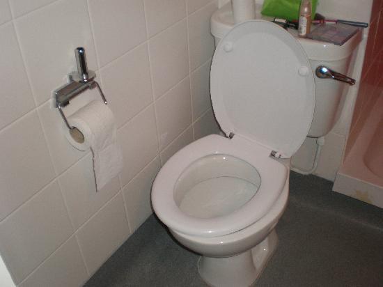 Travelodge Scarborough St Nicholas Hotel Toilet Too Close To Wall Wonky Seat