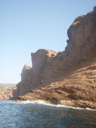 La Ciotat, Frankrijk: the coast from the kayak