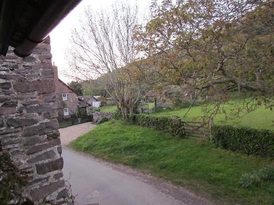 Tudor Cottage : A View of Bossington
