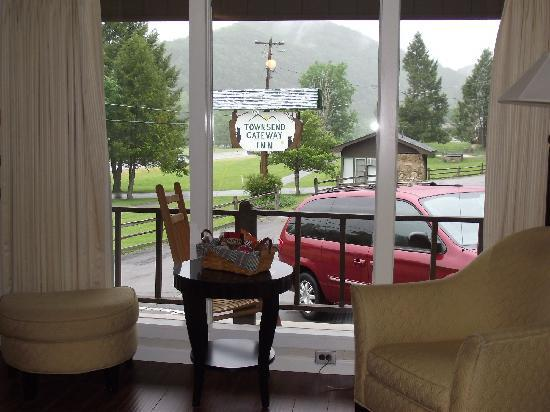 Townsend Gateway Inn: view from room 16