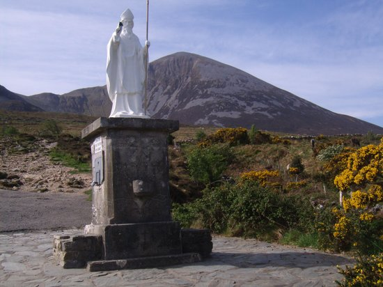 County Mayo, Ierland: St. Patrick Monument