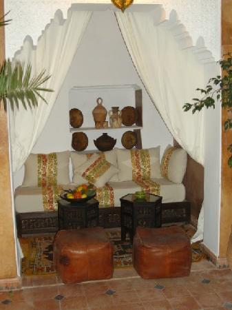 Riad Des Orangers : Bhou, RdC