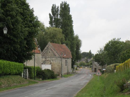 Crepon, France: the village
